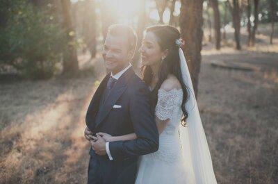 Un día muy especial lleno de sorpresas: la boda de María y Roberto