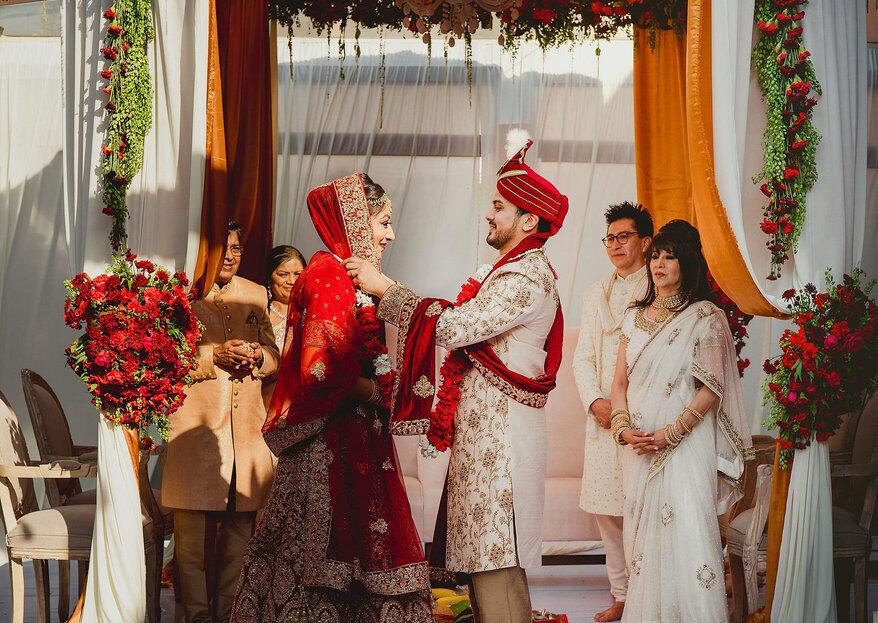 La extraordinaria boda Hindú de Parvathy y Sagar en CDMX