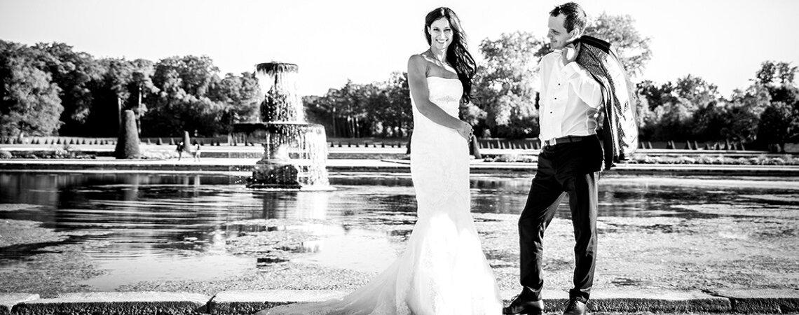 Le joli mariage religieux de Camille et Romain à deux pas du Château de Fontainebleau