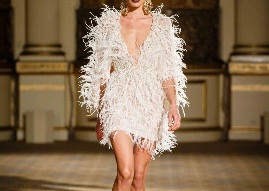 5 vestidos de novia que nos vuelven locas... ¡pero que nunca nos pondríamos!