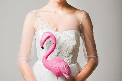 I fenicotteri, un tocco di originalità in rosa per il tuo matrimonio