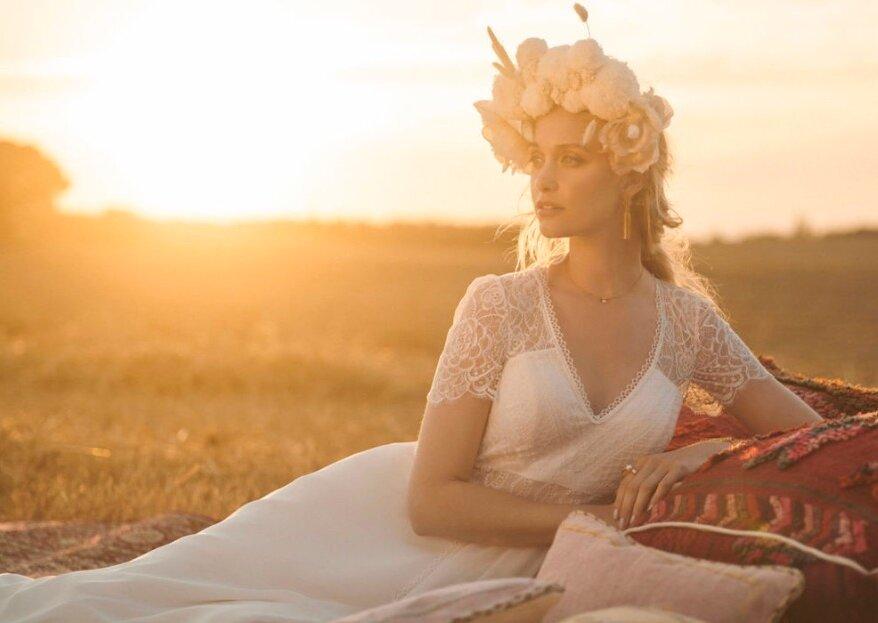 O'SCARLETT : féminité et modernité seront de mise pour votre robe de mariée