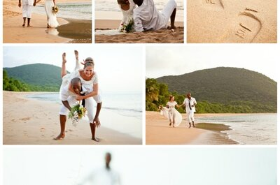Kateryna et Jonas, mariage en Guadeloupe