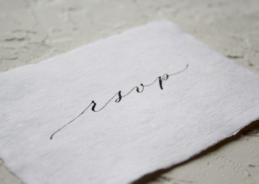 RSVP op je trouwkaart: Wat is het en waarom is het belangrijk!