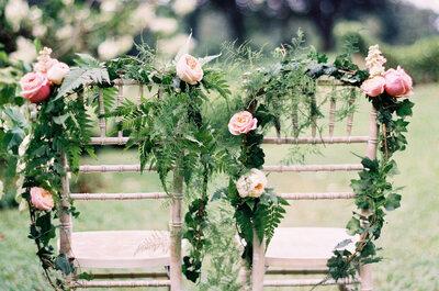Las más originales ideas para decorar las sillas en tu boda: Porque cada detalle cuenta