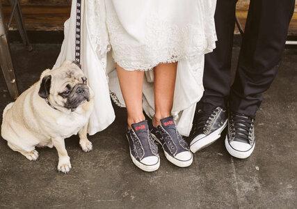 5 motivos para usar tênis no seu casamento