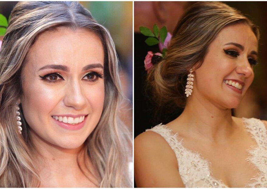 Retoque da maquiagem da noiva: as dicas de uma especialista!