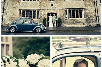 Chegue em grande estilo no seu casamento: escolha um transporte único para uma chegada triunfal!