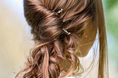 Fryzury ślubne dla nowoczesnych Panien Młodych. Koniecznie zobacz te upięcia włosów!