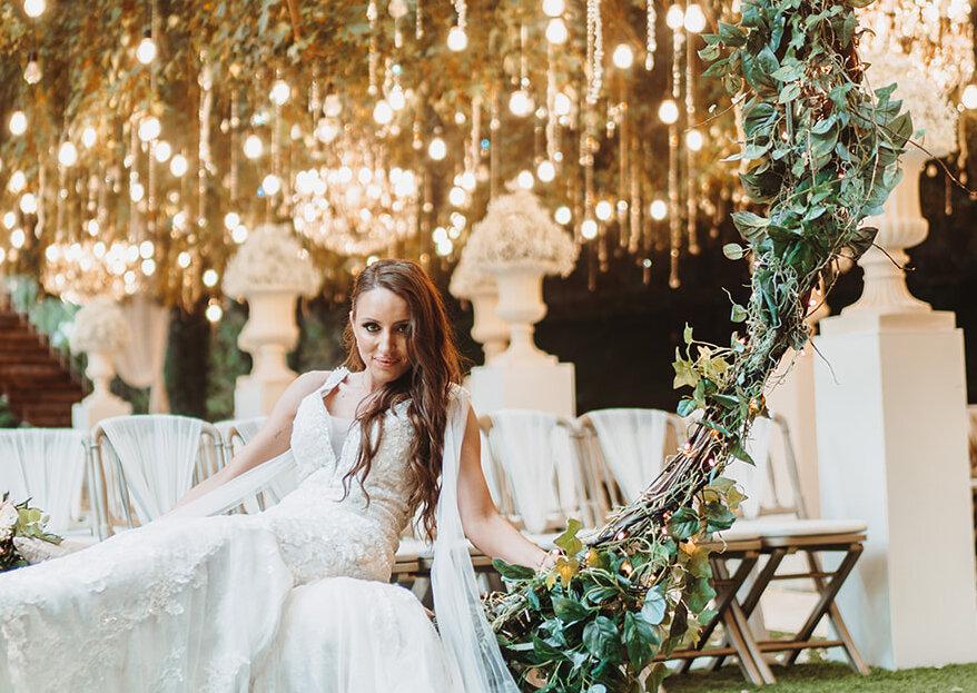 Penteados Semi-Apanhados para noiva: deslumbre no seu casamento!