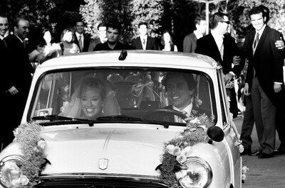¿En qué carro llegarías a tu boda?