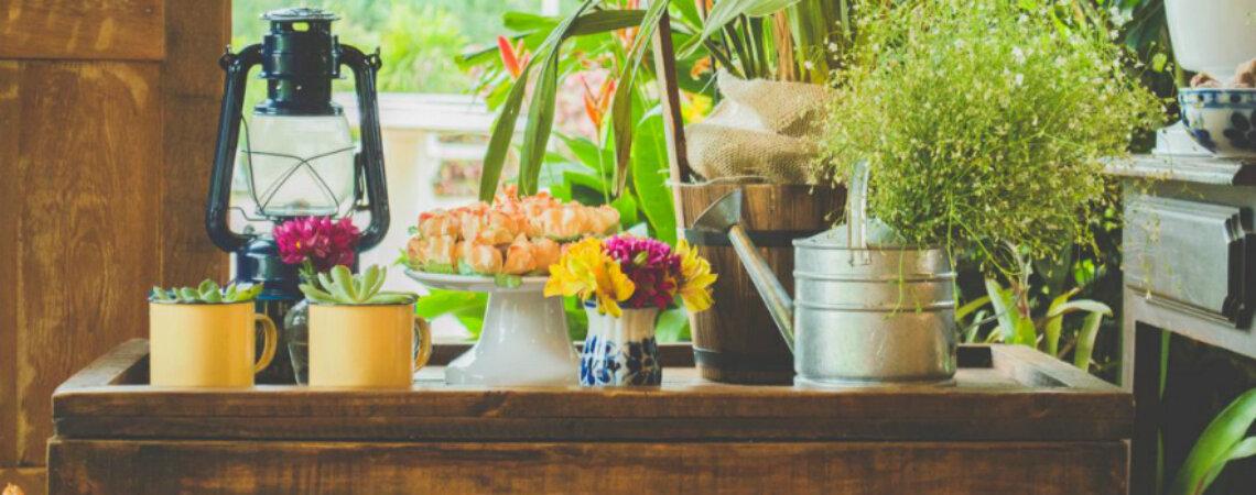 10 ideias incríveis para a decoração de um chá de panela super original e criativo!