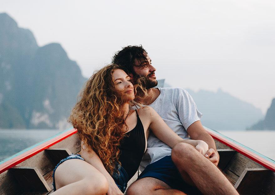 A lua-de-mel perfeita para si e para o seu parceiro: 5 opções TOP!