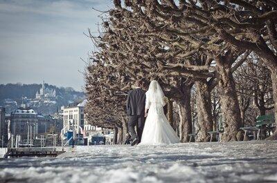 5 Must-haves für eine Hochzeit im Winter