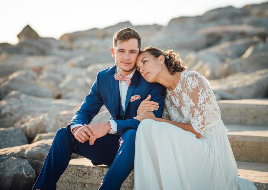 Clarisse et Guillaume: un mariage émouvant dans le sud célébré pendant trois jours