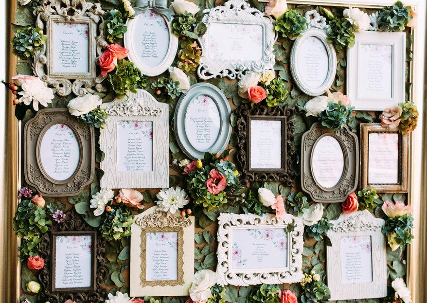 Tableau de mariage: ecco tante idee per scegliere il più originale