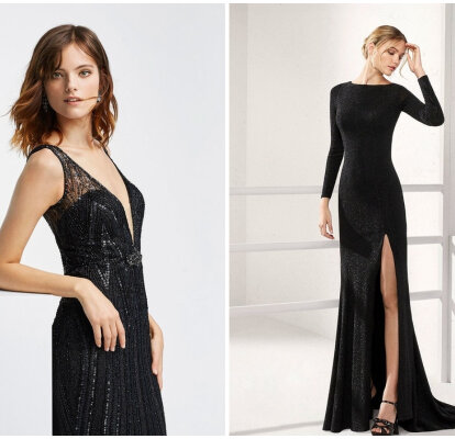 Robes De Soiree Longues Noires Plus De 60 Tenues De Fete A L Elegance Intemporelle