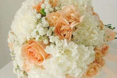 Bouquet: cravos... no post do dia