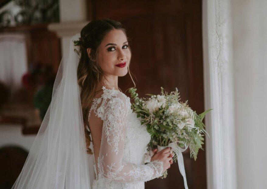 Giuliana Motta Floral Design: composiciones florales para tu boda en las que te verás reflejada