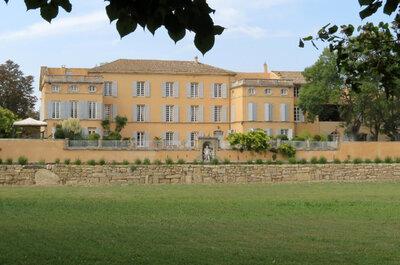 Cadre romantique et décor naturel, dites oui au Château d'Ayguebelle !
