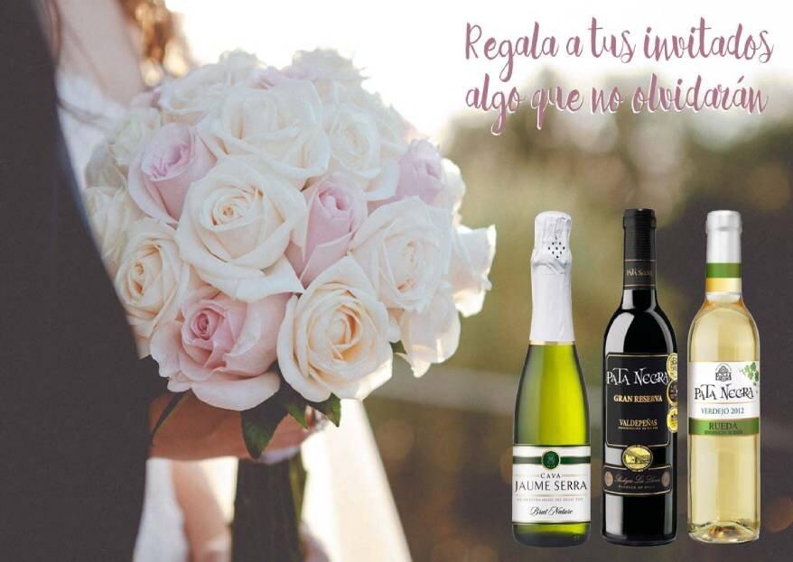 Elige un buen vino para tu boda y conquista a tus invitados con Bodegas García Carrión