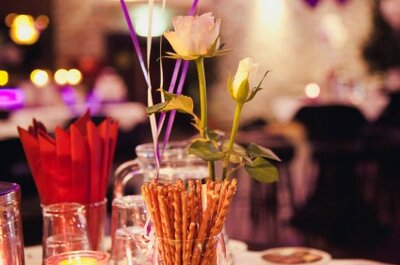 Mira estas ideas para decorar tu matrimonio con flores