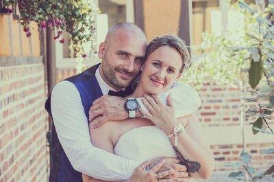 Chloé et Greg : un mariage fun avec des baskets comme dress code