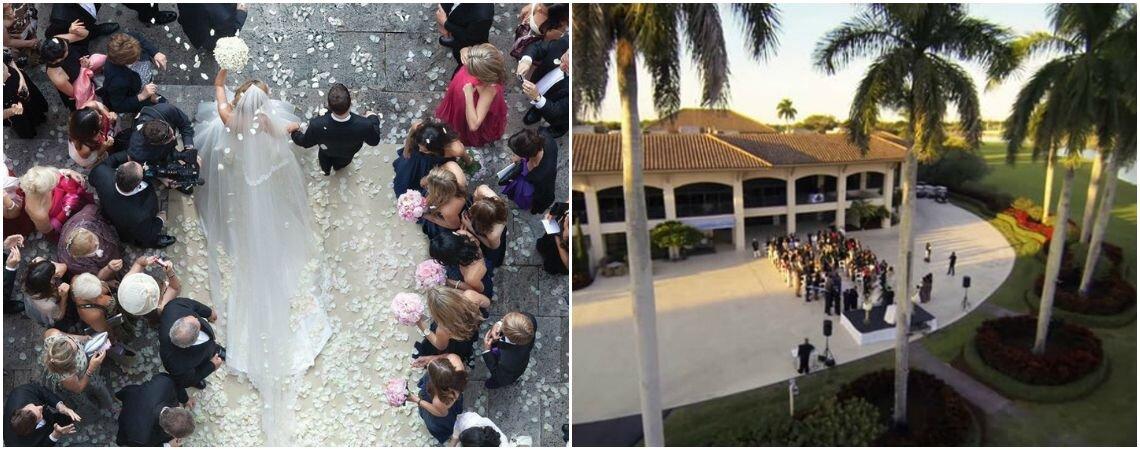 Unglaubliche Hochzeitsbilder mit professionellen Fotodrohnen aufgenommen: Sie werden staunen!