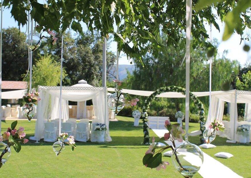 Tenuta Pegaso: una location di nozze mistica e leggiadra