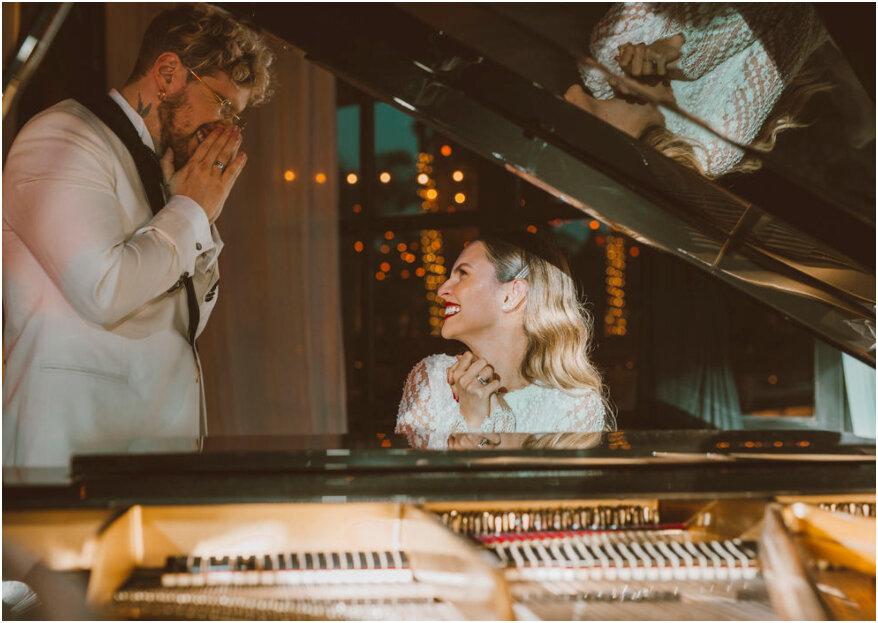 89 canciones para cada momento de la boda: ¡la banda sonora del día más romántico de tu vida!