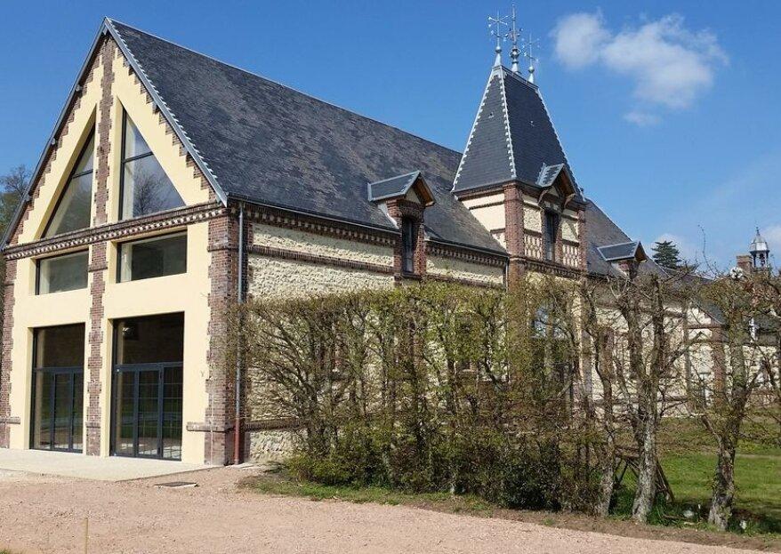 Domaine de Coulonge : un lieu de caractère pour un mariage normand convivial et romantique
