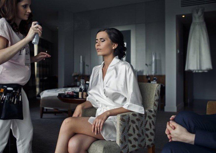 Свадебный макияж, пригласить на дом мастера или посетить салон?