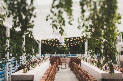 Декор свадебного стола: тенденции 2016 года
