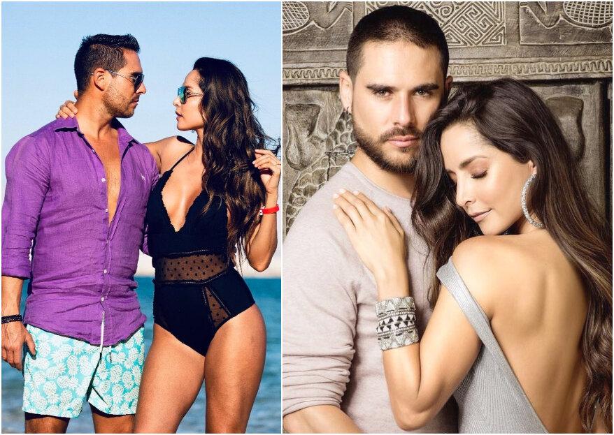 Carmen Villalobos y Sebastián Caicedo se casan. ¡Tenemos detalles del lugar y el vestido de novia!