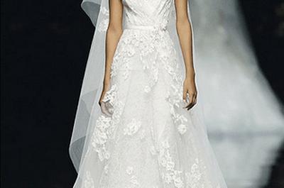 Vestidos de novia de Pronovias colección otoño 2013