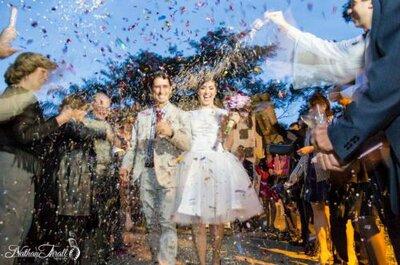 Por que usamos véu de noiva, alianças e chuva de arroz em casamentos?