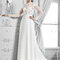 Długa suknia ślubna z długimi rękawami, Foto: Agnes 2015
