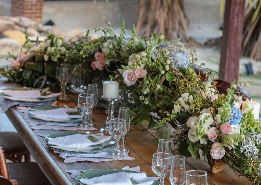 Centros de mesa perfeitos para casamentos clássicos!
