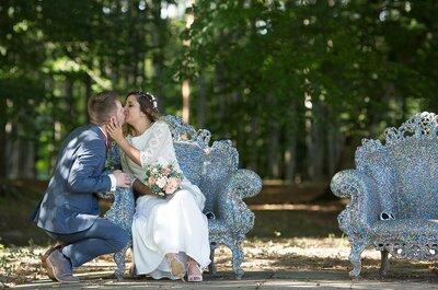 Marisa + Thibault : un joli mariage DIY dans les Ardennes