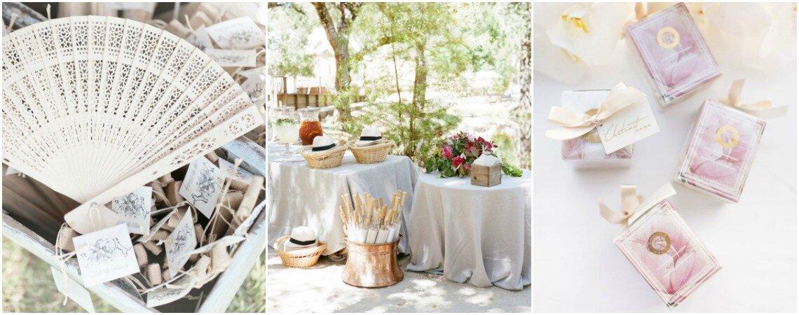 Recuerdos de matrimonio para todos los gustos. ¡Inspírate y elige el de tus invitados!