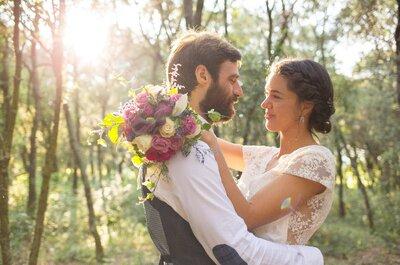Mi gran boda campestre en un molino restaurado: el gran día de Marta y Luis