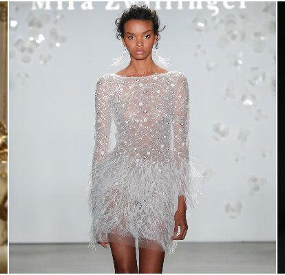 Vestidos De Novia Cortos Los Diseños Más Top Para Tu Boda