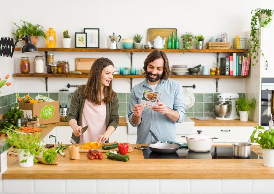 Freude am gemeinsamen Kochen - Einfach gemacht!