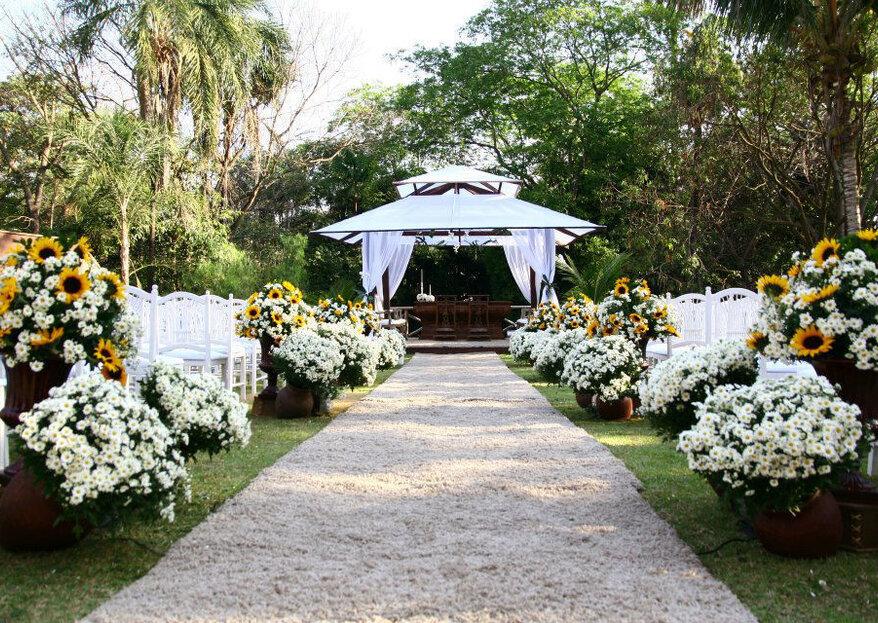 Os locais mais incríveis para se casar em Goiânia