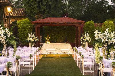 Los 11 mejores lugares de boda para casarse durante la primavera en Madrid