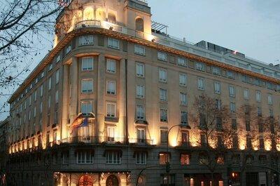 Los 11 mejores hoteles para celebrar tu boda en Madrid