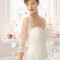 Hochzeits-Kleid: Brautkleid mit dreiviertel Ärmeln aus Tüll und Spitze
