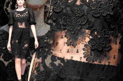 Festmode Dolce & Gabbana 2013 – überraschende Designs im Doppelpack