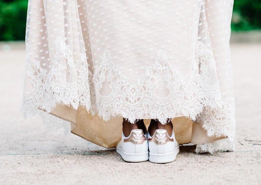 Tenis para novia ¡Camina al altar cómoda y con estilo!