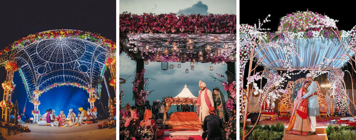 7 Breathtaking Floral Mandap Decors That Are Perfect For Your Regal Wedding!